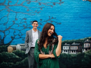 Ashley + Matt - Mt. Washington Engagement