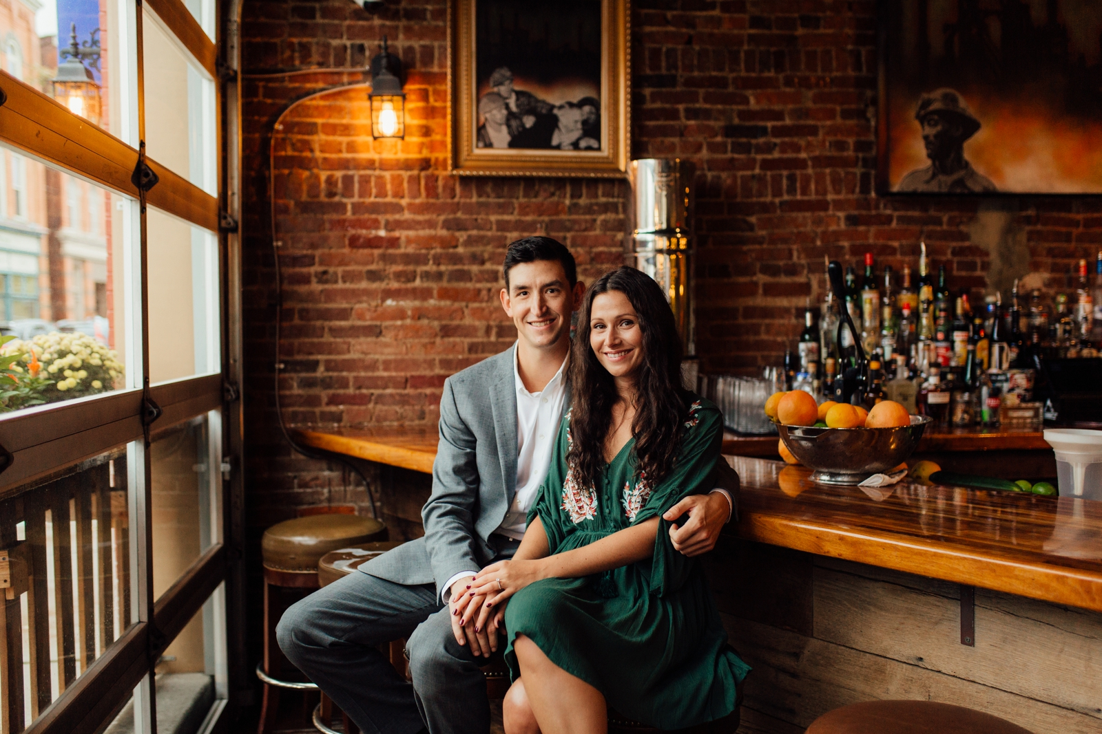 Mt Lebanon Engagement Shoot Photographer Pittsburgh