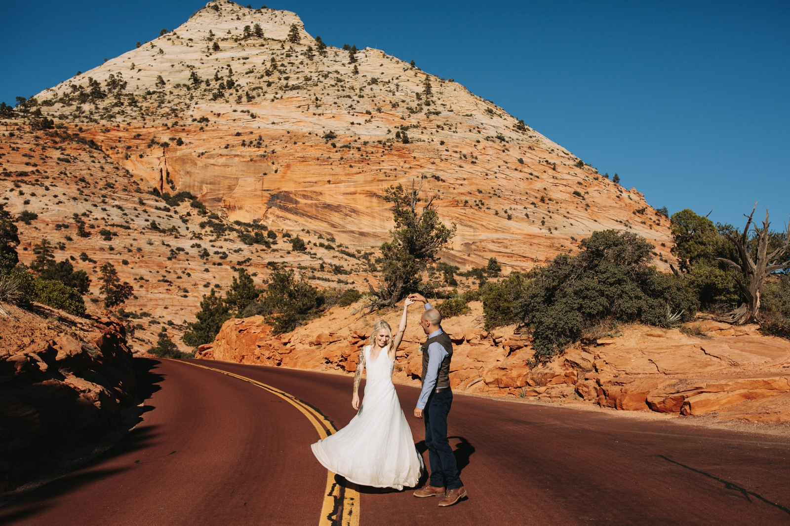 Zion National Park Wedding Destination Photographer