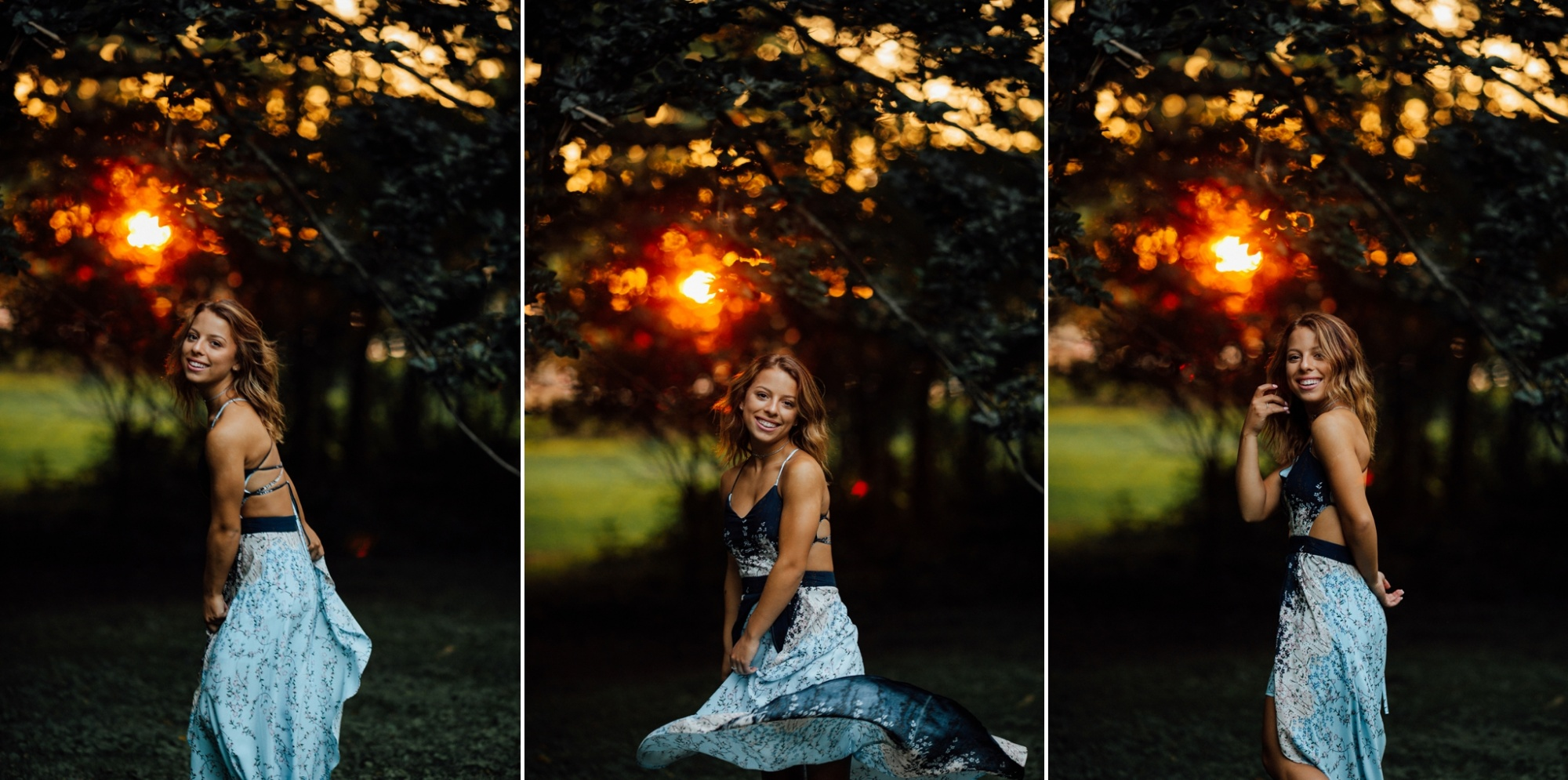 Pittsburgh Photographer Unique High School Senior Session Downtown Sewickley