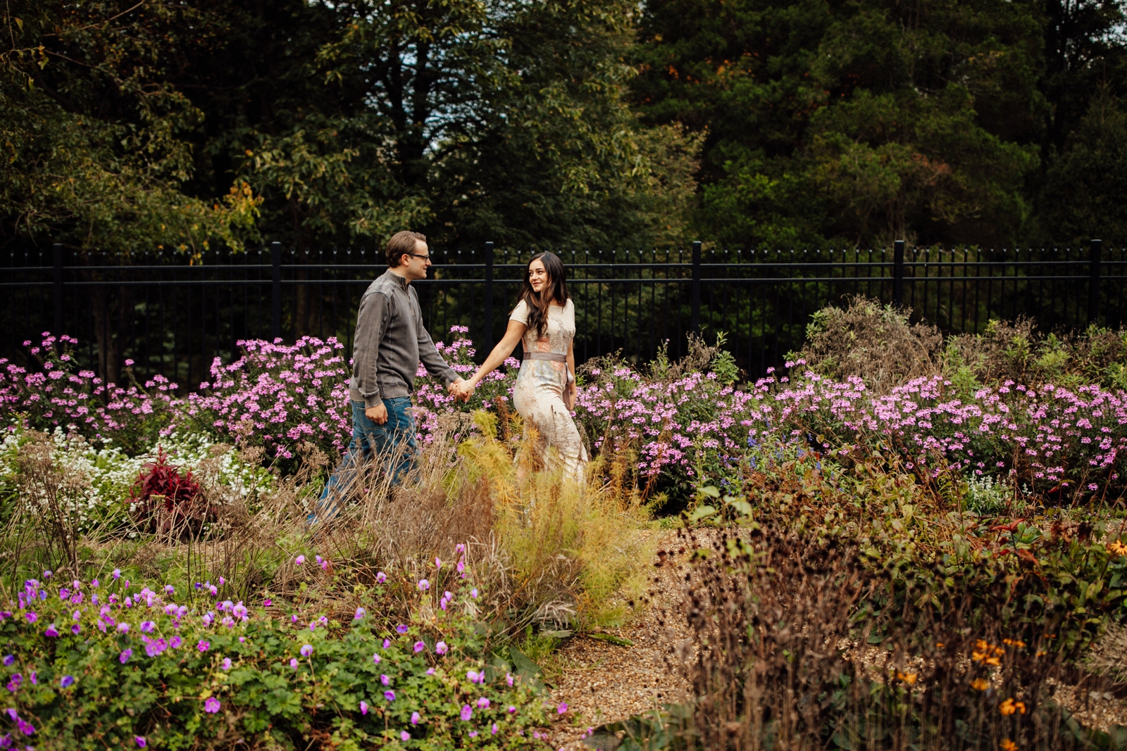 Hartwood Acres Couple Engagement Session Pittsburgh Photographer