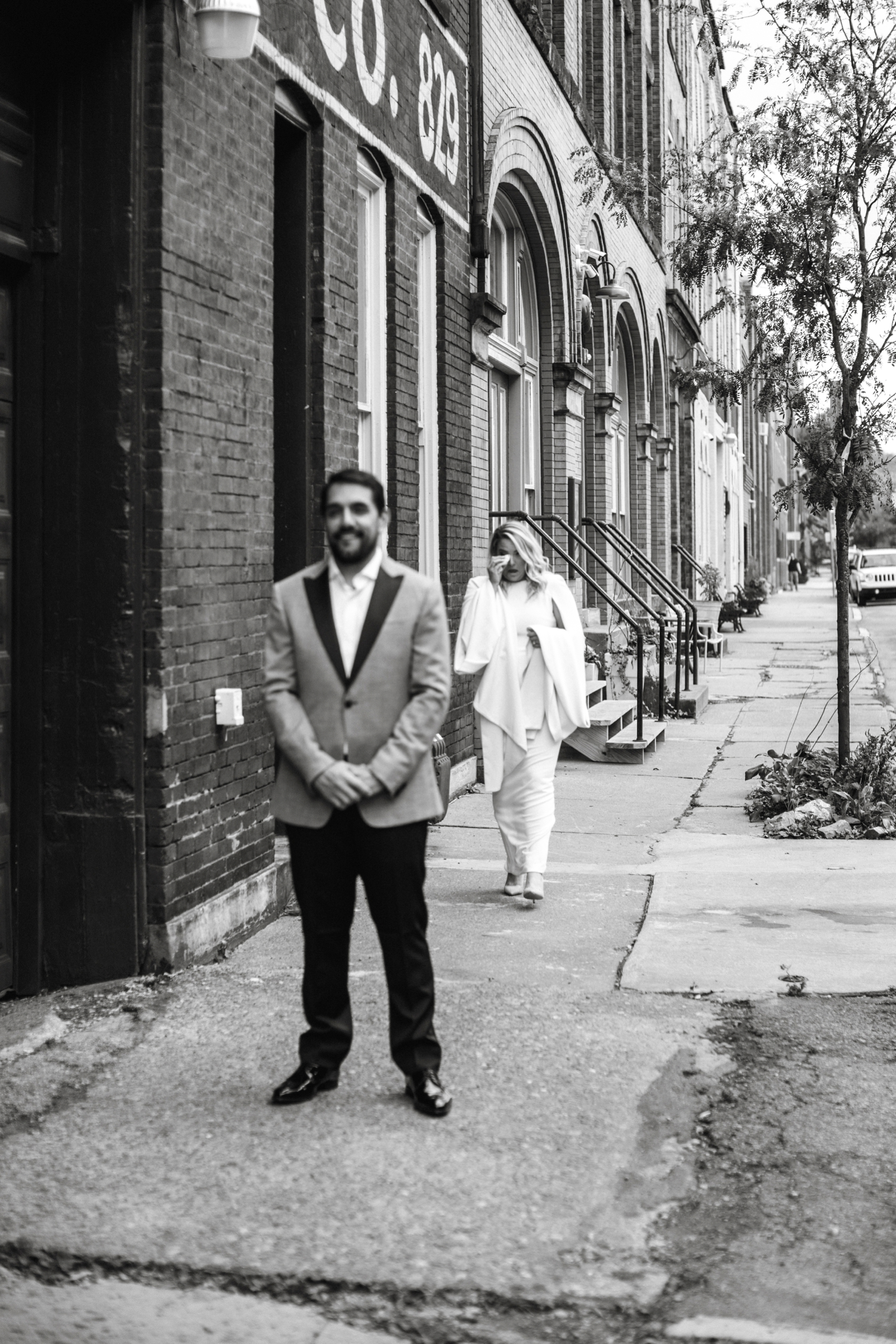 Hip at the Flashlight Factory Pittsburgh Wedding Photographer