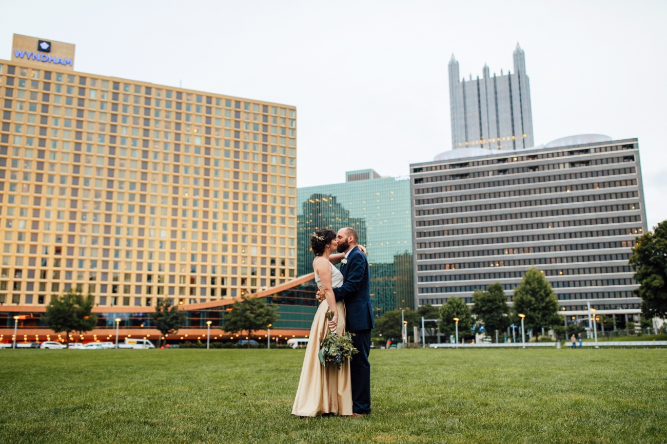 Pittsburgh Wedding Photographer Convention Center Andy Warhol Museum