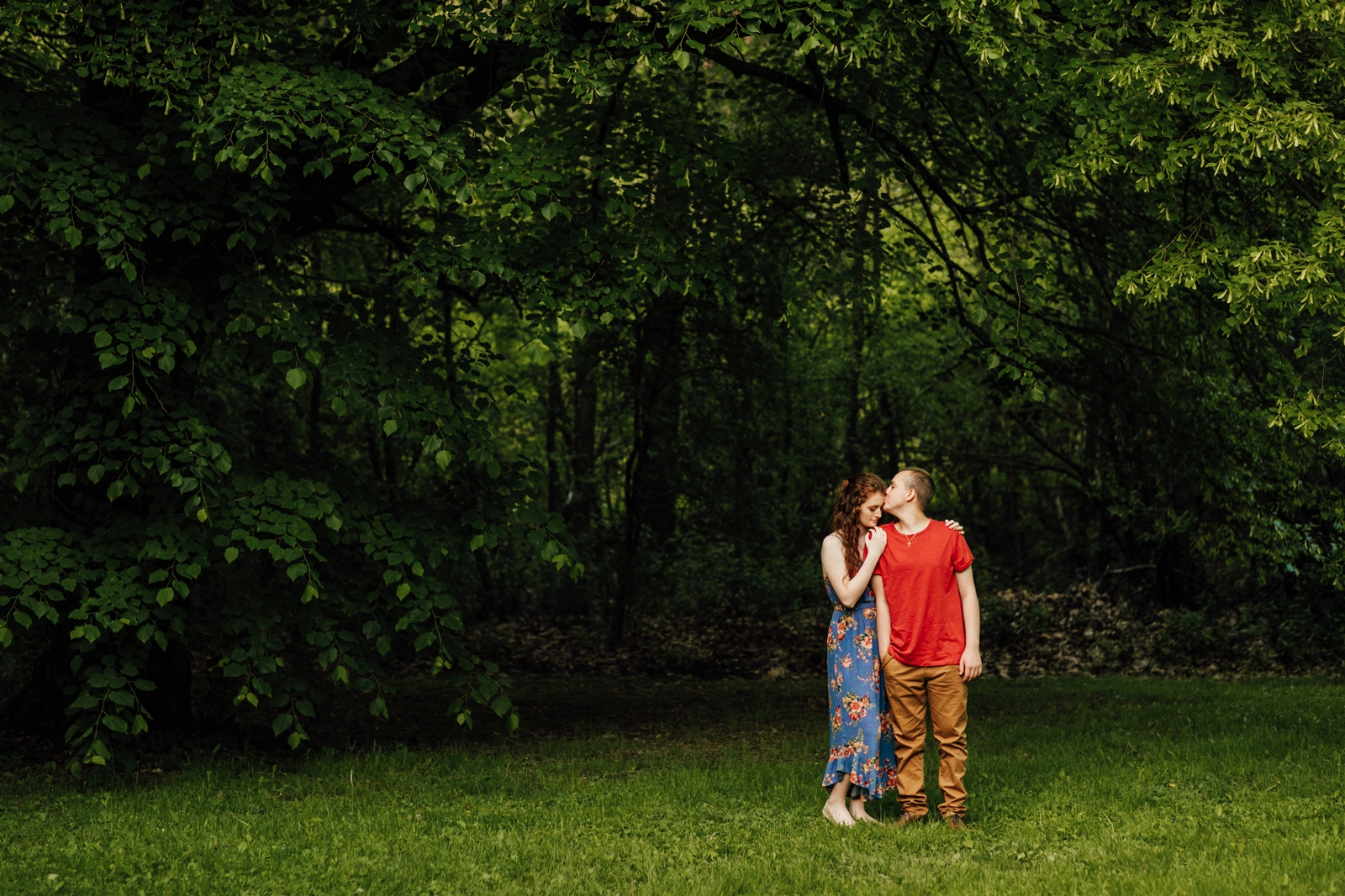 Pittsburgh Engagement Session Photographer Succop Nature Park