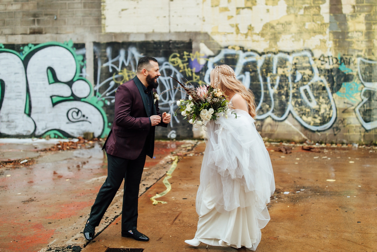 Pittsburgh Wedding Photographer Strip District Slate Studio