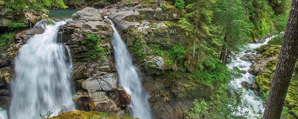 Nooksack River, Nooksack Falls, © Brett Baunton