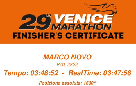 Maratona di Venezia (29^ Venicemarathon)