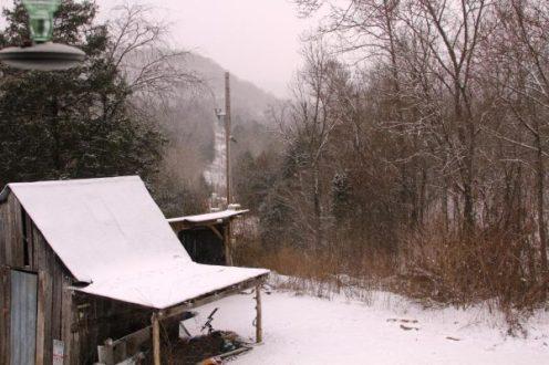 rural ozark snow picture