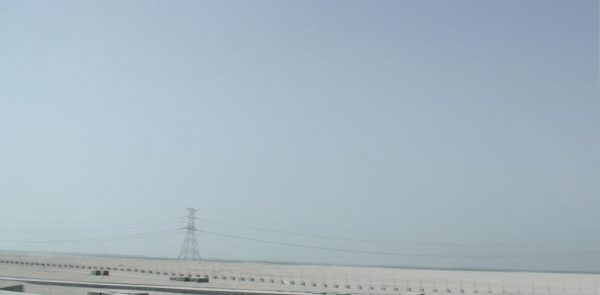 Between Al Reef and Abu Dhabi city