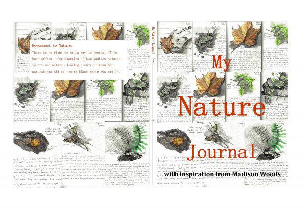 "Full cover for the ""My Nature Journal"" book in the works. Look for it at Amazon on Oct. 5."