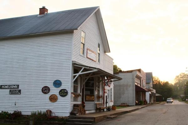 Kingston, Arkansas. If you find yourself there, stop in at Tina's Place on the Square.