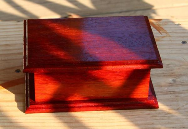 2nd Series Padauk Keepsake Boxes