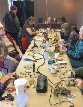 Forest Folk Workshop with Madison Woods at Ozark Folkways in Winslow, AR.