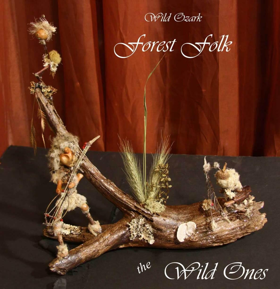 Folk Art by Madison Woods- Musical Forest Folk