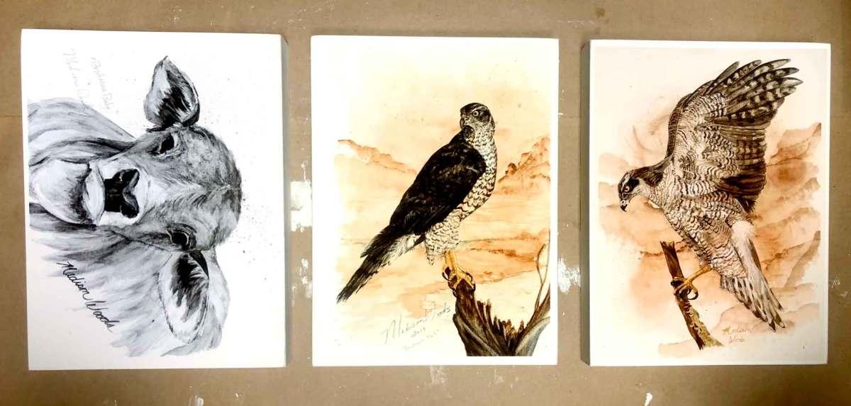 Paleo Prints ready to varnish
