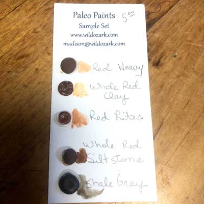 Sample dot set from Wild Ozark Paleo Paints.