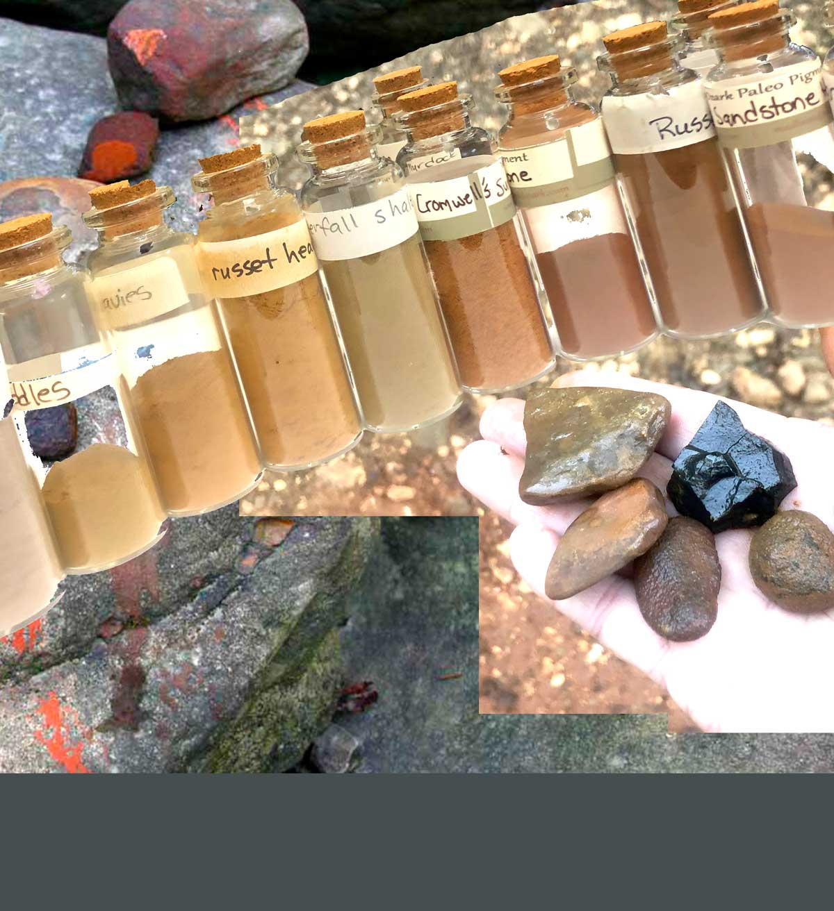 A color story: Wild Ozark raw pigments