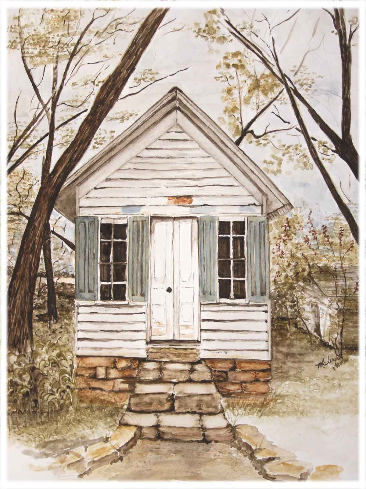 Arkansas Historical Building: Dr. Carter's Office in Ozark Pigments