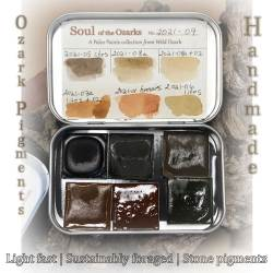 Soul of the Ozarks Collection No. 2021-09, Paleo Paints by Madison Woods