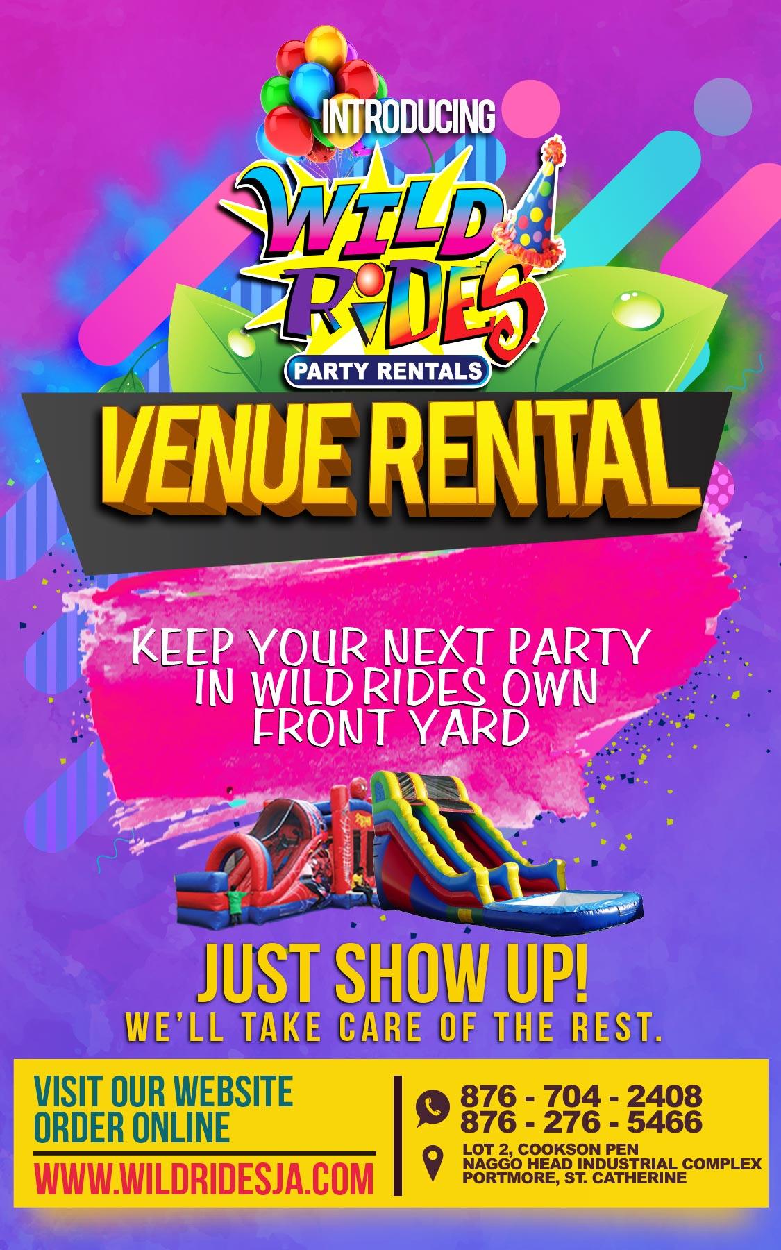 Wild Rides Party Rentals KidsZone Venue Rental