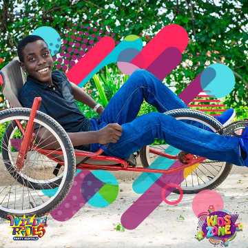 His smile says it all... Do you agree Wild Rides