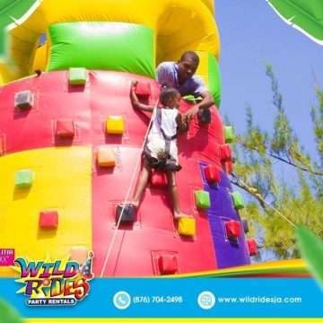 Try to face your fear of heights with this inflatable