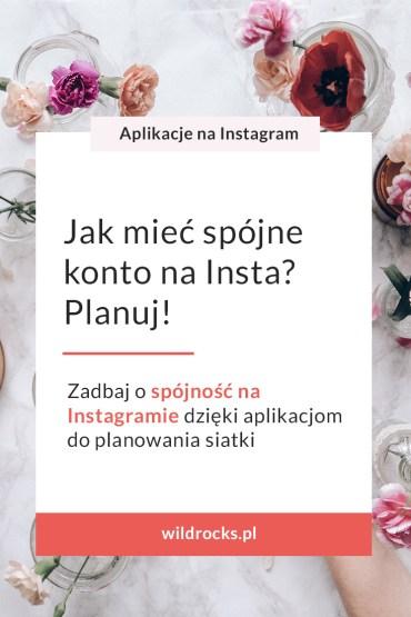 aplikacje do planowania siatki zdjec na Instagramie