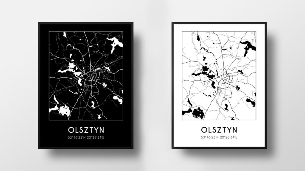 Darmowe Plakaty Z Mapami Miast Do Pobrania Polska Blog