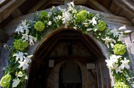 church-floral-arch-sussex