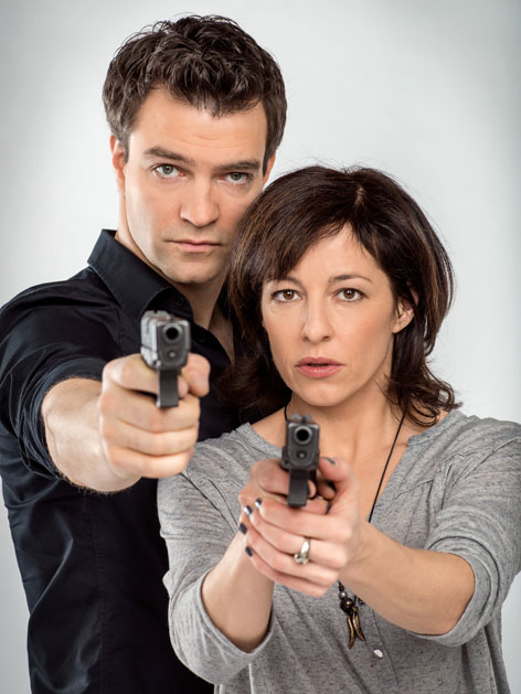 Julia Cencig und Jakob Seeböck Foto: ORF Thomas Ramstorfer