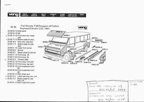 small resolution of veng body panels diagram 1