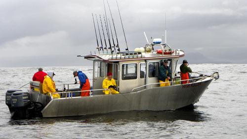 Alaska Premier Charters Fishing Boat