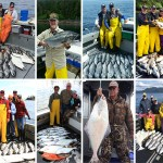 6-28-2016 Killer King salmon fishing the arrival of the cohos