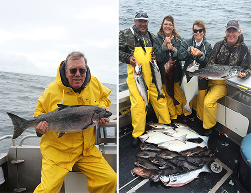 7 16 2016 NW winds blow in more fish