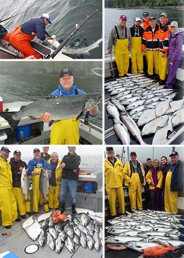 8 12 2016 Slammin salmon and releasing sharks