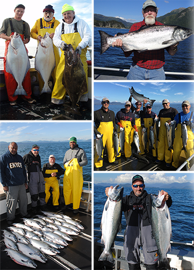 9 4 2016 King Salmon Halibut and monster cohos rule the day