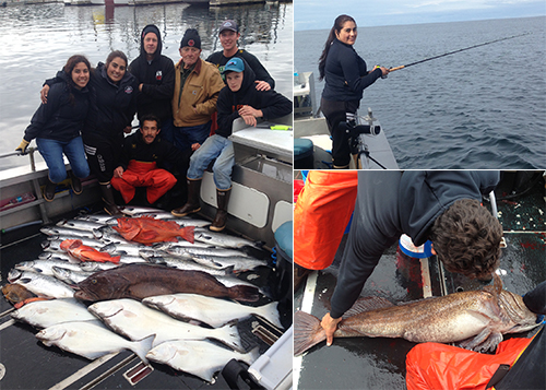 9 9 2015 Great last day of the season Anas super sized resident lingcod