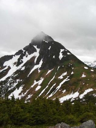 Beautiful Mountains Near Sitka, Alaska