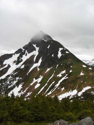 Beautiful Mountains Near Sitka, Alaska