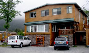 Completed Sitka, Alaska Fishing Lodge View From the Front