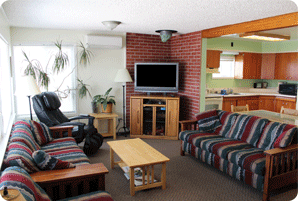 Spacious Living Room of the Front House