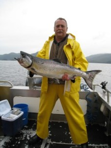 Good Day for King Salmon Fishing