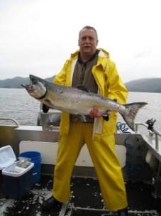 Good Day for King Salmon Fishing