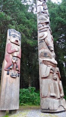 More incredible totem poles in Sitka, Alaska
