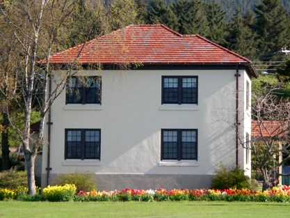 Part of the Alaska Pioneers Home in Sitka