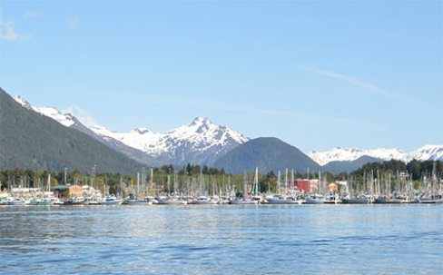 Sitka On A Beautiful Sunny Day in Sitka