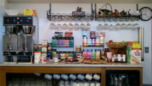 Snack Counter at the Wild Strawberry Lodge