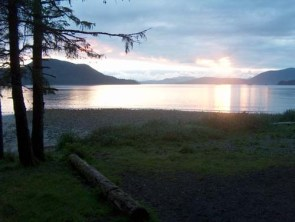 Sunset On The Beach In Sitka, AK 2