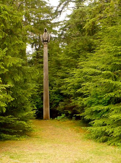Totem Park in Sitka, Alaska
