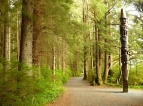 Totem Park in Sitka, AK